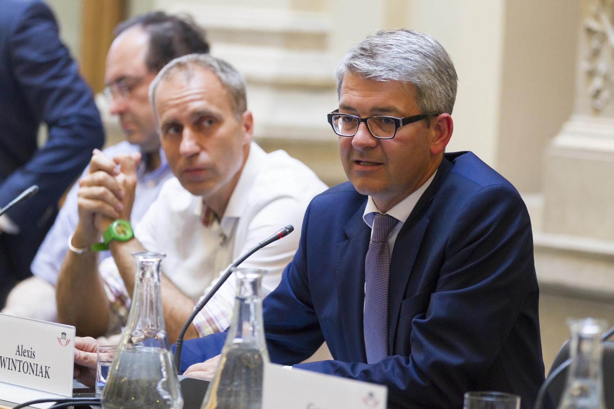 Diskussionsveranstaltung 'Architekten und Ingenieure, Politik und Öffentlichkeit'